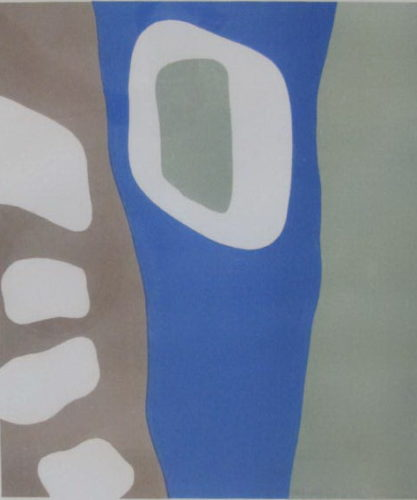 Coulisses De Foret by Jean Arp at