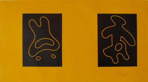 Dreams Xviii And Dreams Xx by Jean Arp at