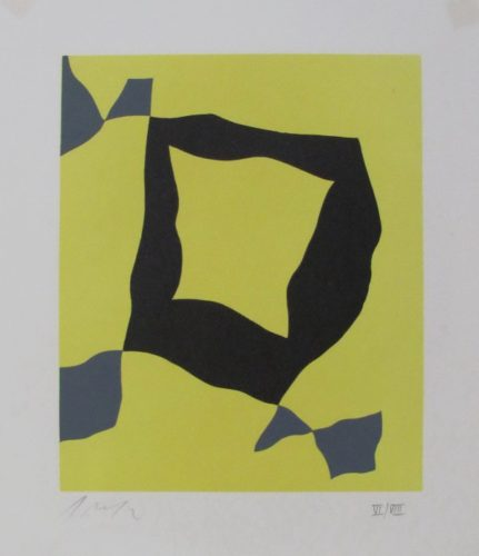 Feuille Eparses by Jean Arp at