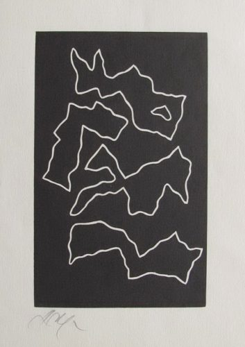 Lune En Rodage by Jean Arp at
