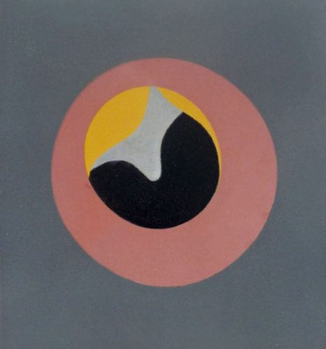 Untitled, From: Le Soleil Recerclé, 1962-65 (eye A by Jean Arp