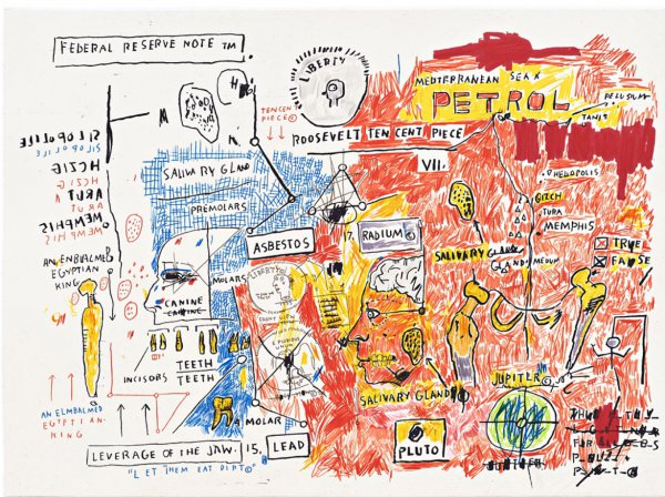 Liberty by Jean-Michel Basquiat at Jean-Michel Basquiat