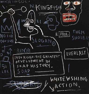 Rinso by Jean-Michel Basquiat at Jean-Michel Basquiat
