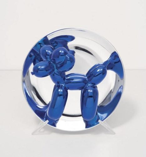 Balloon Dog (blue) by Jeff Koons at Jeff Koons