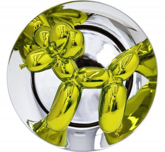Balloon Dog (yellow) by Jeff Koons