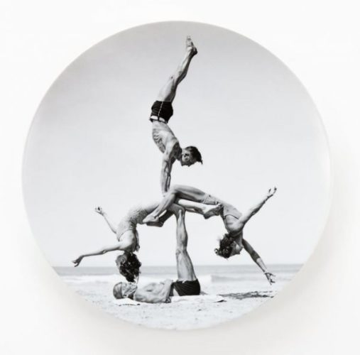Bernardaud Plate by Jeff Koons at
