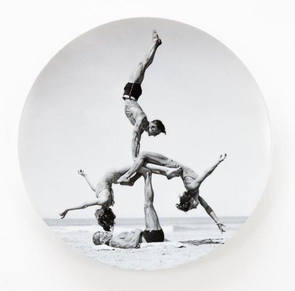Bernardaud Plate by Jeff Koons