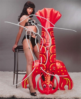 Girl With Lobster by Jeff Koons at