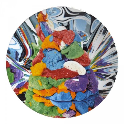 Play-doh Service Plate by Jeff Koons at