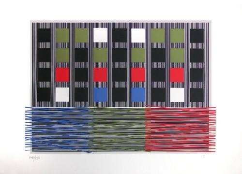 Composition 1992 by Jesus Rafael Soto