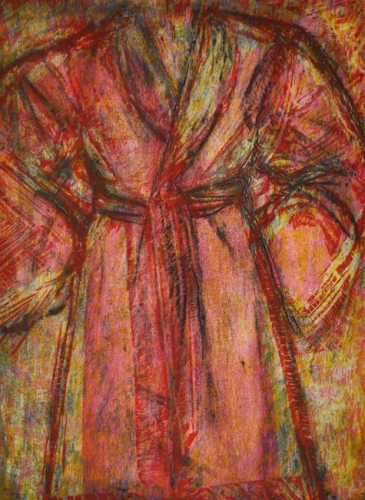 Rosy Robe by Jim Dine