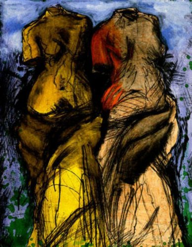 The Foam by Jim Dine