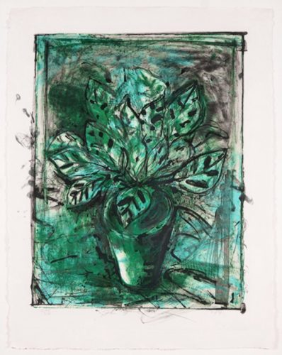 The Jerusalem Plant, No 8 by Jim Dine