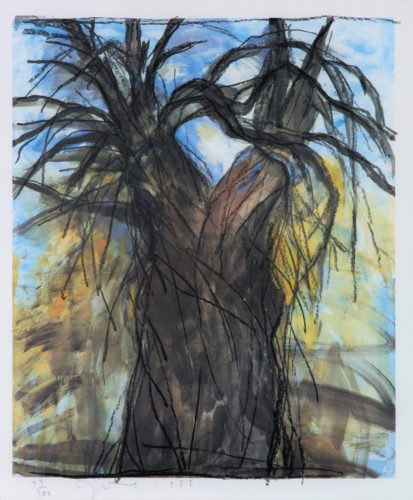 The New Year's Tree by Jim Dine