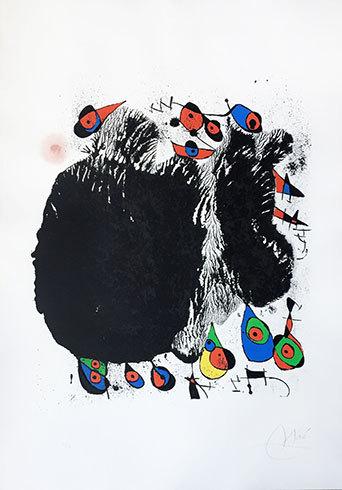 La Cascade Aux Oiseaux by Joan Miro