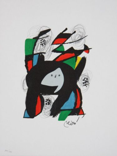 La Melodies Acide by Joan Miro at