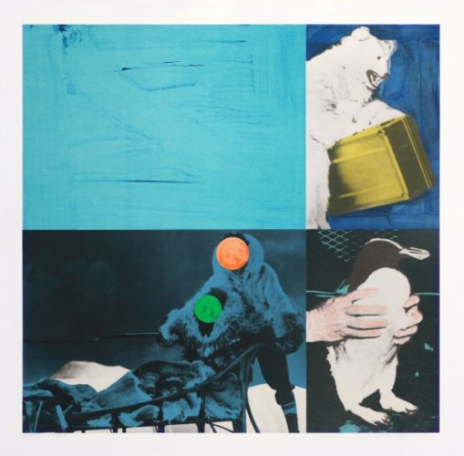 Cliché: Eskimo (blue) by John Baldessari at