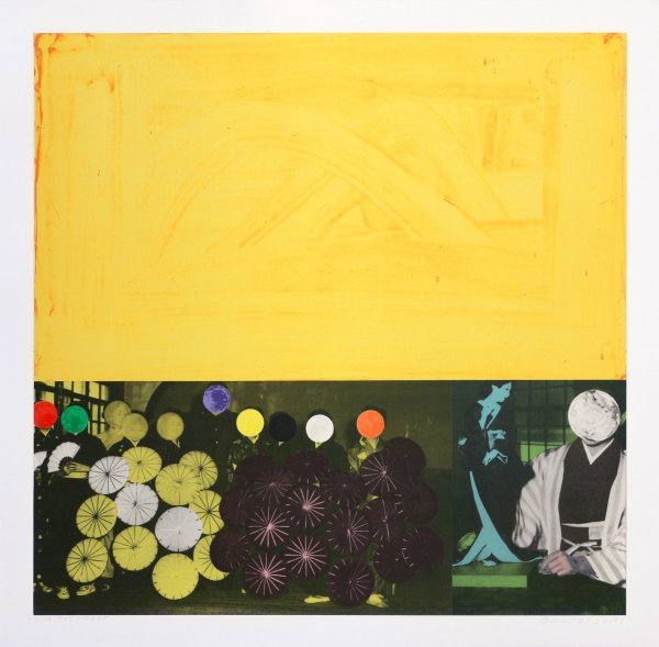 Cliche: Japanese (yellow) by John Baldessari