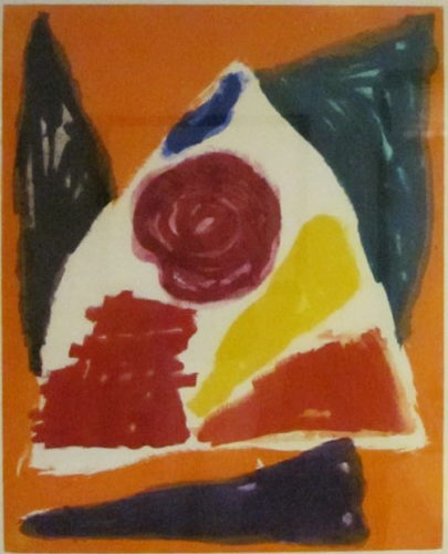 Bouquet by John Hoyland at