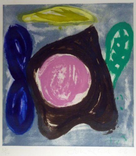Jinal by John Hoyland at De Lacey Fine Art