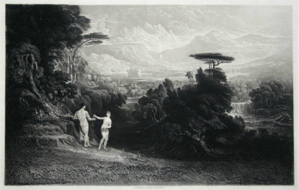 The Fall Of Man by John Martin