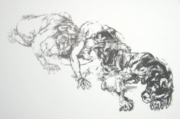 Descent Of The Minotaur by John Simpson