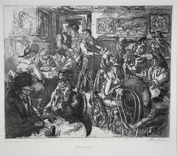 Hell Hole by John Sloan at Harris Schrank Fine Prints (IFPDA)