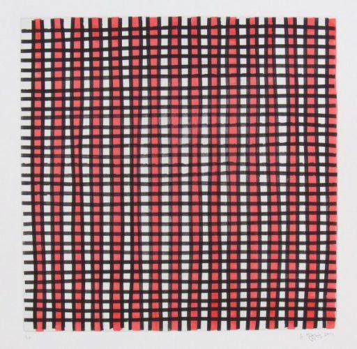 White, Black & Red I by Jonathan Higgins