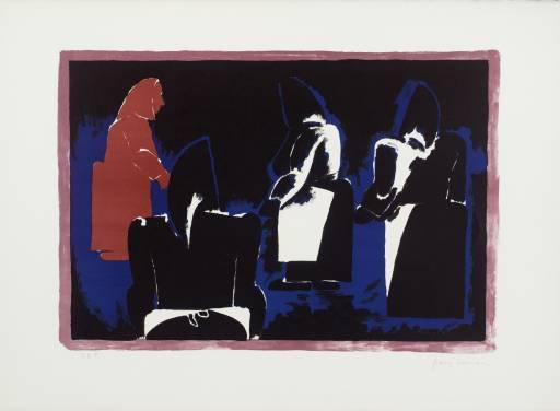 Four Fisherwomen by Josef Herman