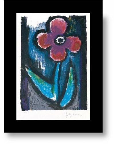 Lyrical Flower by Josef Herman