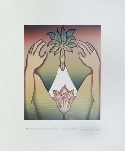 Voices From The Song Of Songs: Come, Let Us Go Out To The Open Fields by Judy Chicago at