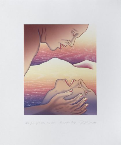 Voices From The Song Of Songs: How Fine You Are, My Love by Judy Chicago at