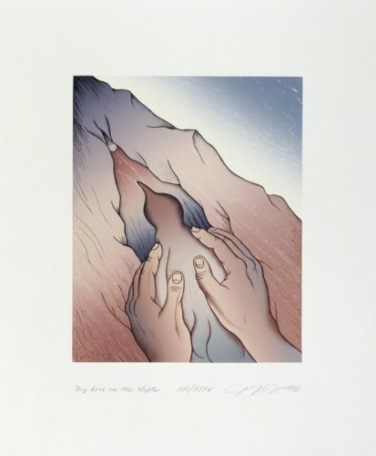 Voices From The Song Of Songs: My Dove by Judy Chicago at