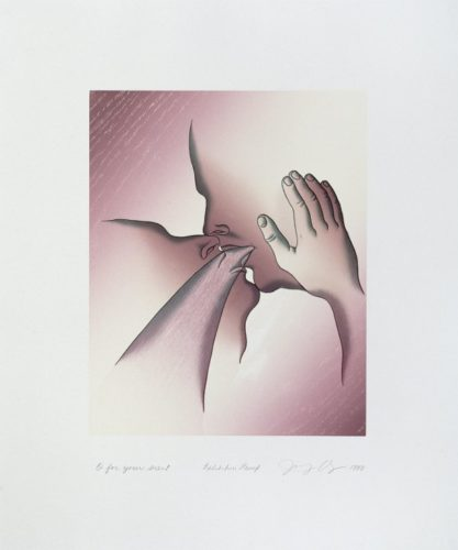 Voices From The Song Of Songs: O For Your Scent by Judy Chicago at