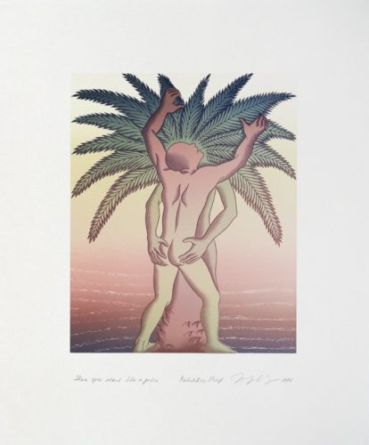Voices From The Song Of Songs: There You Stand Like A Palm by Judy Chicago at