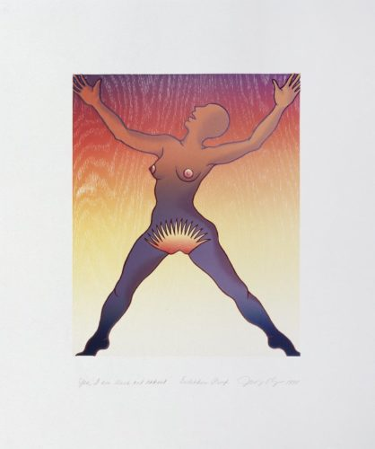 Voices From The Song Of Songs: Yes, I Am Black And Radiant by Judy Chicago at