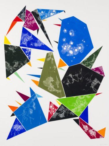 Euclidean Space Series #3 by Julia Fernandez-Pol