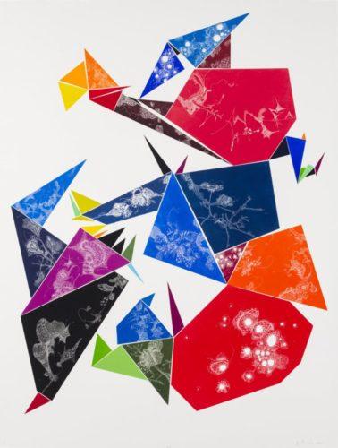 Euclidean Space Series #5 by Julia Fernandez-Pol