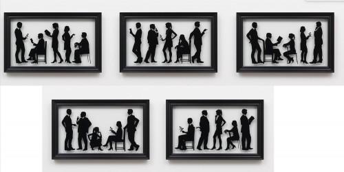 The Gallery Staff (5) by Julian Opie