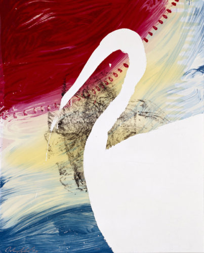 View Of Dawn From The Tropics-roy by Julian Schnabel at