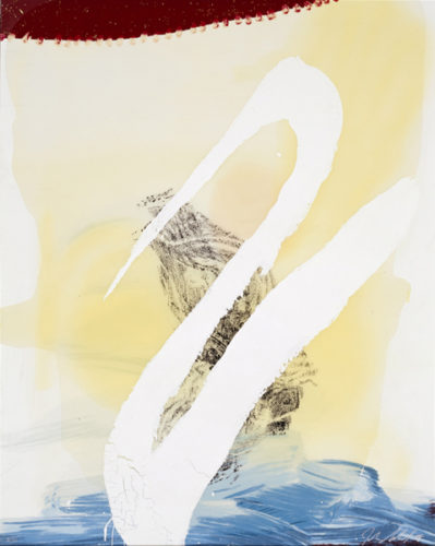 View Of Dawn From The Tropics-allen(cordial Love) by Julian Schnabel at