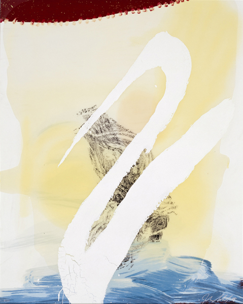 View Of Dawn From The Tropics-allen(cordial Love) by Julian Schnabel