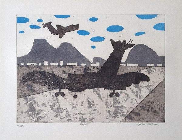 Runway by Julian Trevelyan at ModernPrints.co.uk