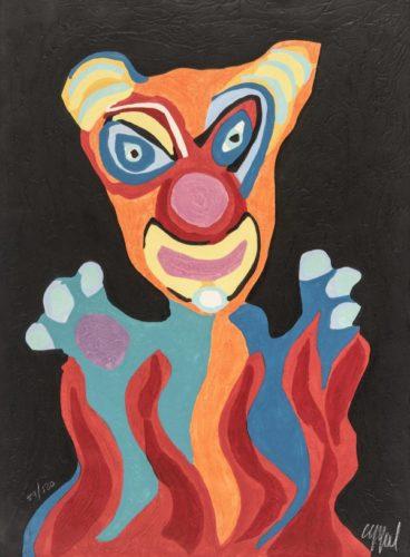 Circus 02 – Barbare Civilisé by Karel Appel