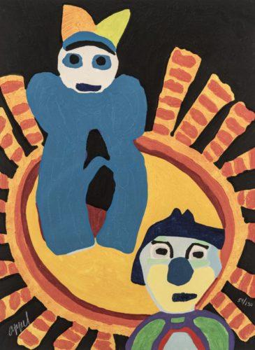 Circus 06 – Soleil Inca by Karel Appel