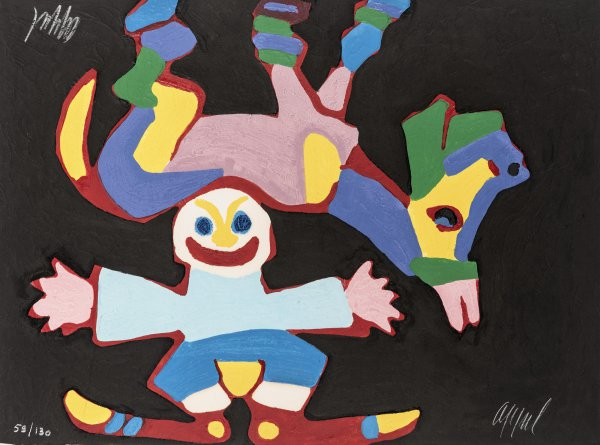 Circus 07 – Avec L'impossible Traverser by Karel Appel