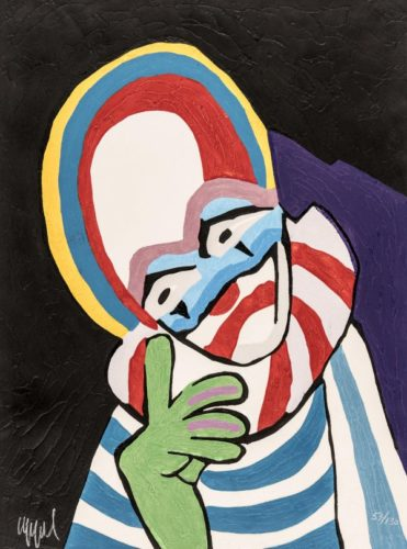 Circus 13 – Toute La Tendresse Du Monde by Karel Appel