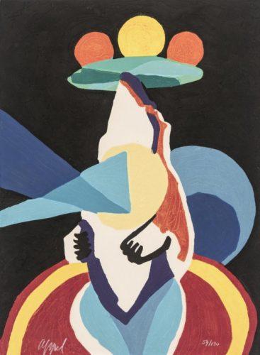 Circus 14 – Le Jongleur Prophétique by Karel Appel