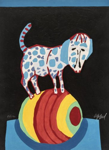 Circus 15 – Il Répète Pour Nous by Karel Appel
