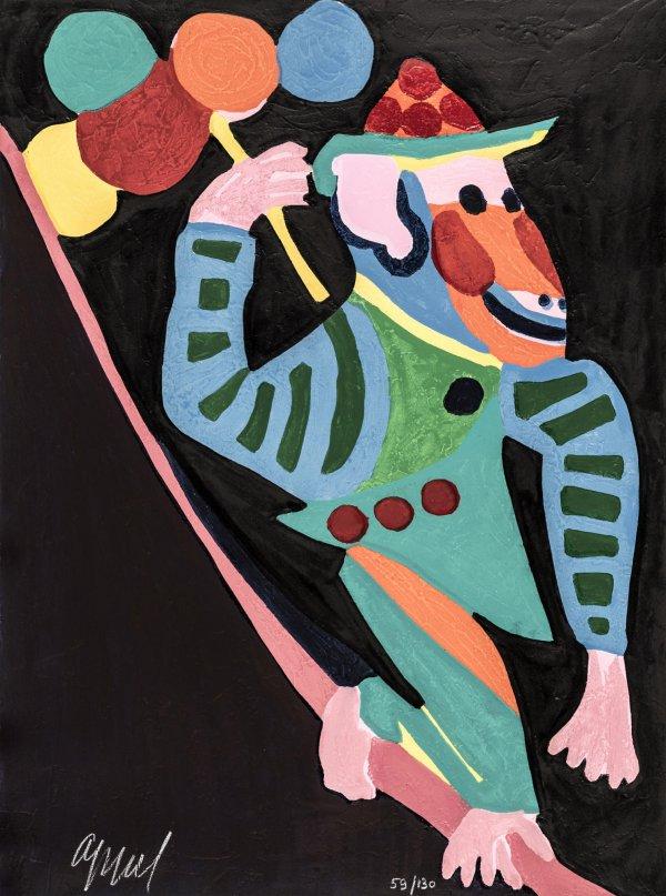 Circus 26 – Crever L'espace Enjamber Le Temps by Karel Appel